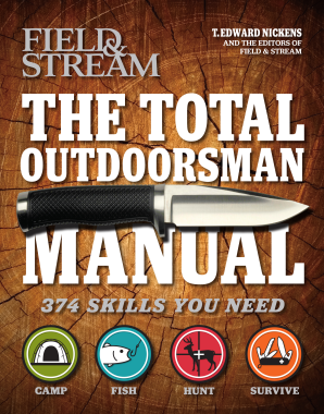 TOTAL OUTDOORSMAN MANUAL (FIELD & STREAM) Paperback  by NICKENS, T. EDWARD