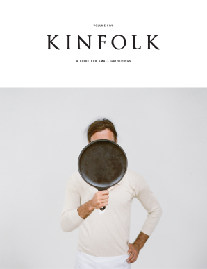 KINFOLK VOLUME FIVE Paperback  by VARIOUS, CONTRIBUTORS