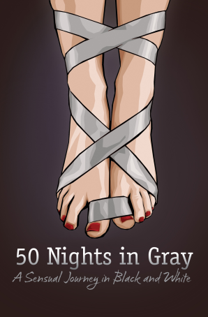 FIFTY NIGHTS IN GRAY Paperback  by ELIAS, LAURA