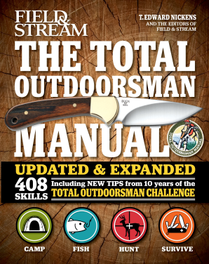 TOTAL OUTDOORSMAN MANUAL (10TH ANNIVERSARY EDITION) Hardcover  by NICKENS, T. EDWARD