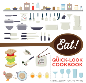 EAT! THE QUICK-LOOK COOKBOOK Paperback  by THE SHOW ME TEAM,