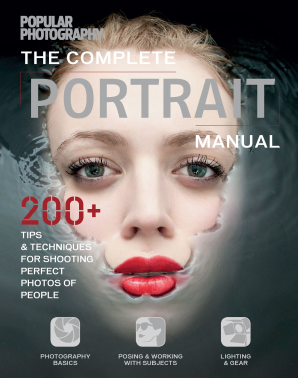 COMPLETE PORTRAIT MANUAL (POPULAR PHOTOGRAPHY) Flexicover  by THE EDITORS OF POPULAR PH,