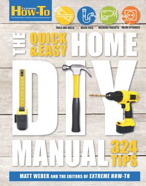 QUICK & EASY HOME DIY MANUAL Flexicover  by WEBER, MATT