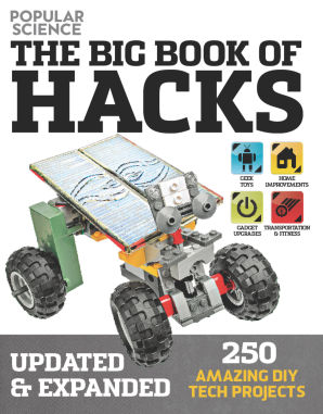 BIG BOOK OF HACKS (POPULAR SCIENCE) - REVISED EDITION Paperback  by CANTOR, DOUG