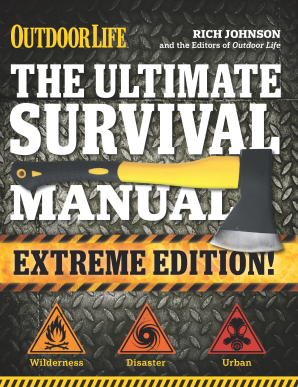 ULTIMATE SURVIVAL MANUAL (OUTDOOR LIFE EXTREME EDITION) Paperback  by JOHNSON, RICH