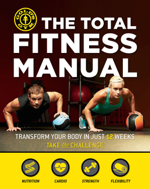 TOTAL FITNESS MANUAL Paperback  by GOLD'S GYM,