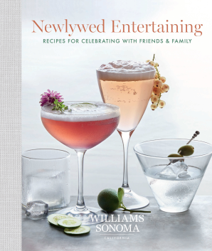 NEWLYWED ENTERTAINING Hardcover  by WILLIAMS-SONOMA,