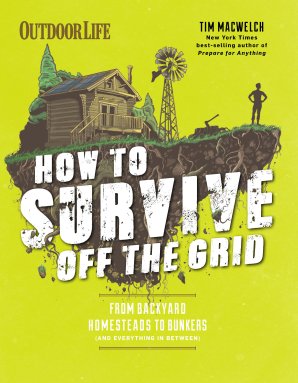 HOW TO SURVIVE OFF THE GRID Paperback  by MACWELCH, TIM