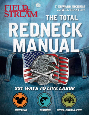TOTAL REDNECK MANUAL Flexicover  by NICKENS, T. EDWARD