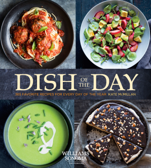 DISH OF THE DAY (WILLIAMS SONOMA) Hardcover  by MCMILLAN, KATE