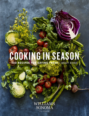 COOKING IN SEASON Hardcover  by BINNS, BRIGIT