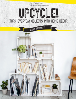 UPCYCLE! Hardcover  by LUCANO, SONIA